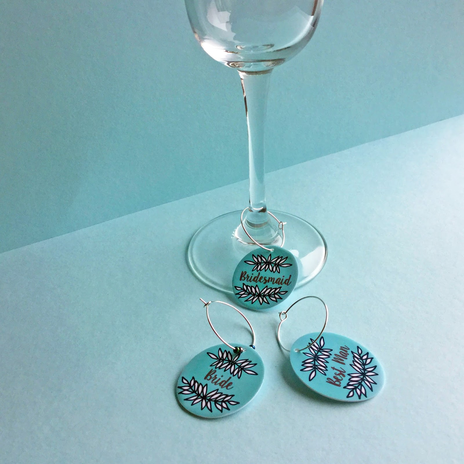 Crafting Quine: Make Wine Glass Charms with Silhouette Shrink Plastic
