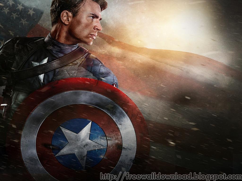 Free wallpaper download captain america free wallpapers - Captain america screensaver download ...