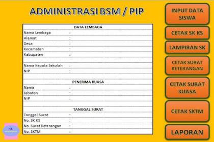 Aplikasi BSM SD Terbaru