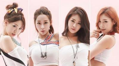 Korean girl band Bambino