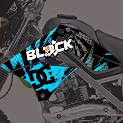 KLX Ken Block Blue