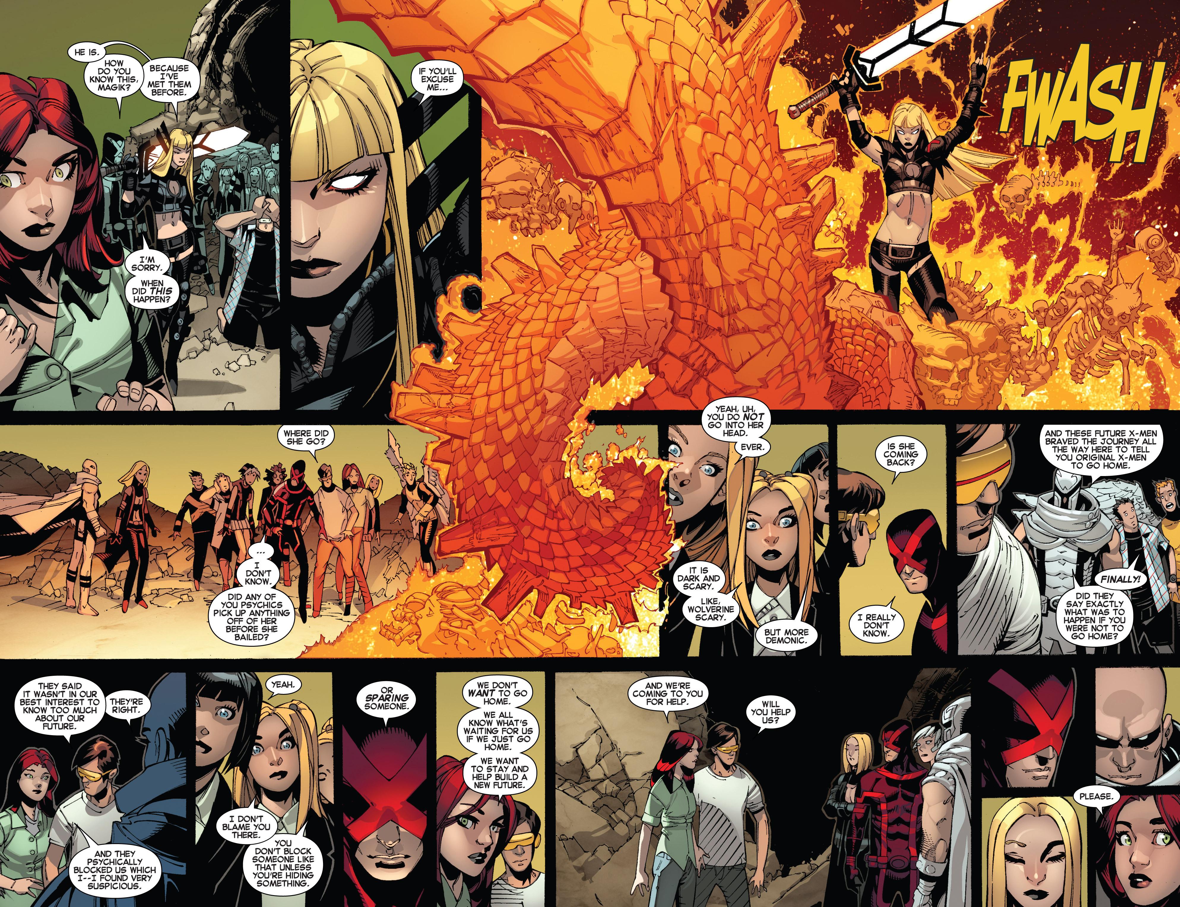 Read online Uncanny X-Men (2013) comic -  Issue #12 - 7