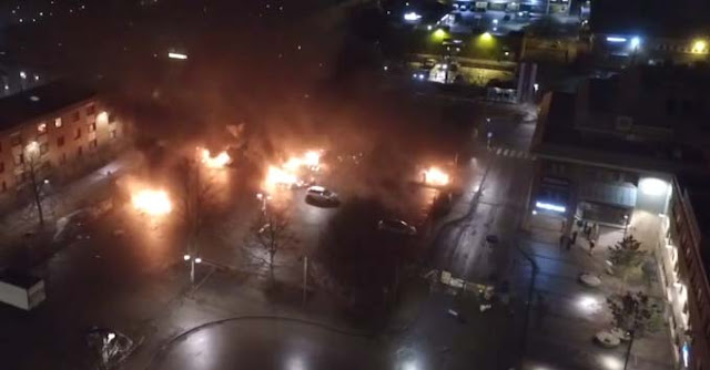 Immigrant riots in Sweden