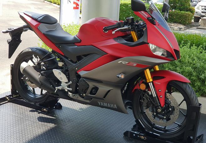 Yamaha Motor introduced a new version of YZF-R3