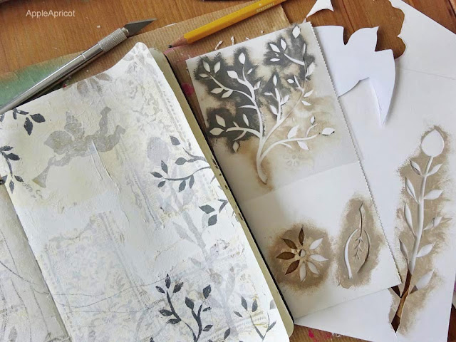 handmade stencils by AppleApricot