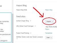Cara Mencegah Blog Di AGC (Auto Generate Content) Dengan Mengatur Feed