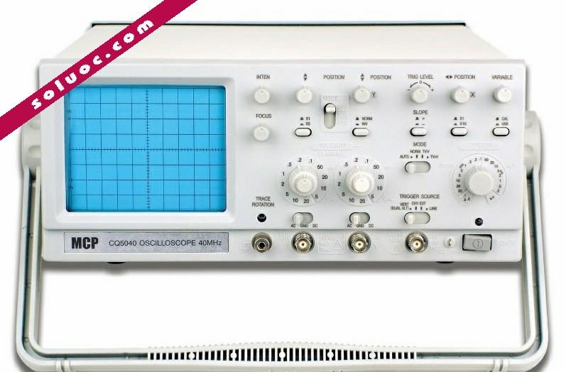Oscilloscope - Máy hiện sóng