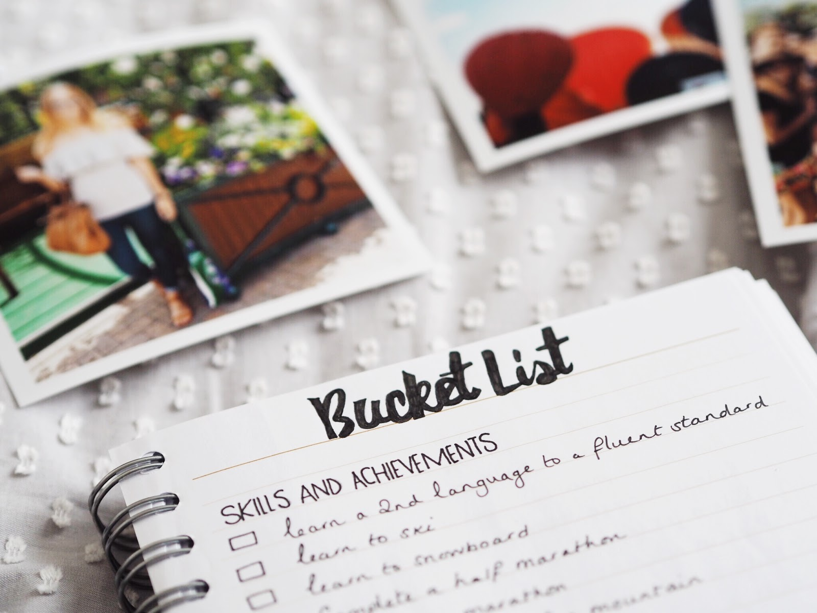 Revising my ultimate Bucket List for 2017