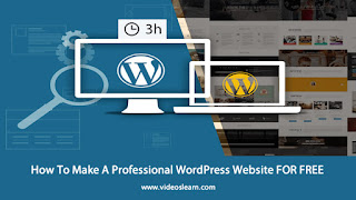 How To Make A Professional WordPress Website FOR FREE