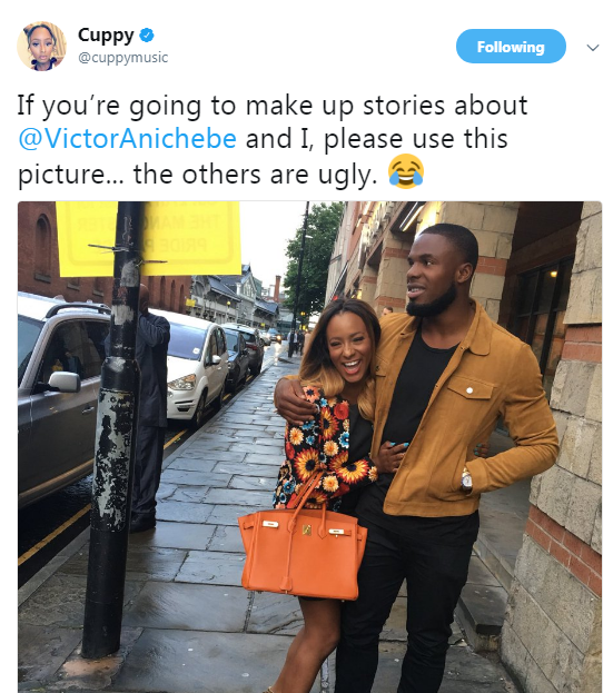 DJ Cuppy-debunks-breakup-rumours-with-Anichebe-in-an-epic-way