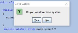 JOptionPane showOptionDialog Code Example