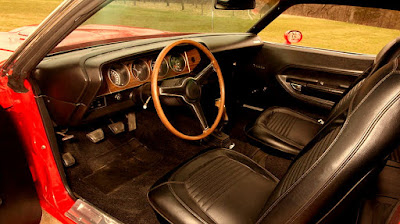1971 Plymouth Barracuda Cuda Hemi Sports Coupe Interior Cabin