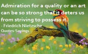 admiration quotes