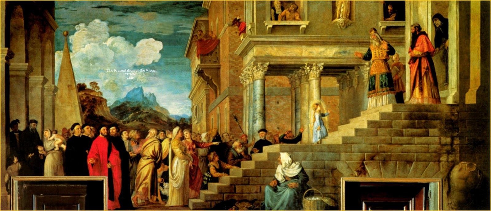 Critic titian presentation of the virgin