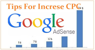 Adsense Ki CPC Kaise Badhaye – Adsense Ki Earning Badhane Ki Useful Tips