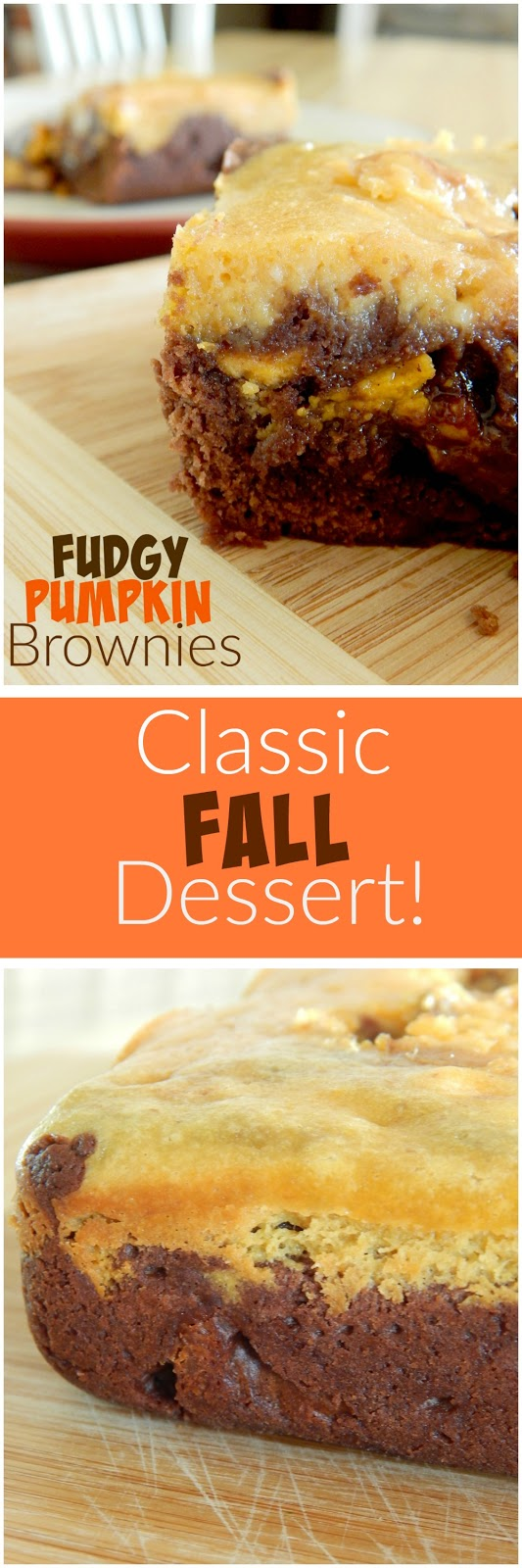 fudgy pumpkin brownies (sweetandsavoryfood.com)