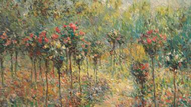 Blanche Hoschedé en Giverny: el ángel azul de Monet