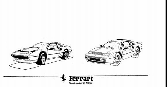 Free Automotive Manuals: FERRARI 308 QV & 328 WORKSHOP MANUAL