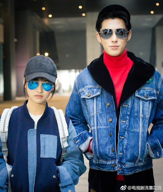 Shen Yue height Meteor Garden Dylan Wang