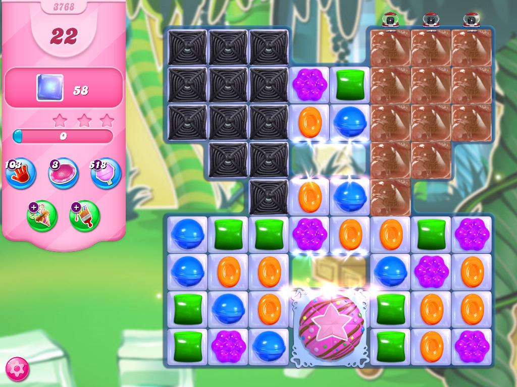 Candy Crush Saga level 3768