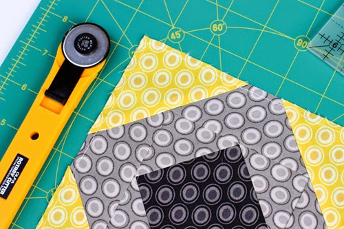 Rotary Cutter Block Tutorial - In Color Order