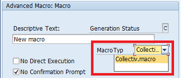 SAP APO DP: SAP APO Demand Planning - Macros