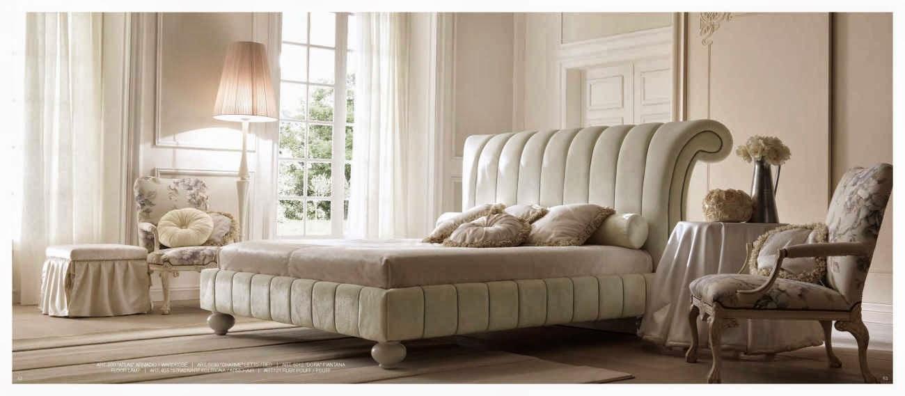 Design interior mobila dormitor de lux Italia - Design Interior | Amenajari interioare - Bucuresti | Mobila Italia - Mobila italiana - dormitor -  Pat Charme
