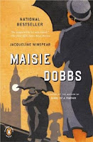 Image of Maisie Dobbs on Top Ten Tuesday from Blog of Extra Ink Edits:Writing Consultant and Editor offering Editing Services for Writers