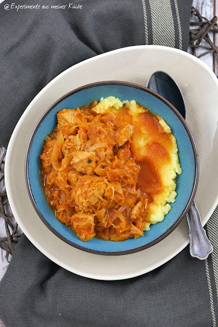 Putengulasch mit Sauerkraut | Rezept | Kochen | Essen | Weight Watchers