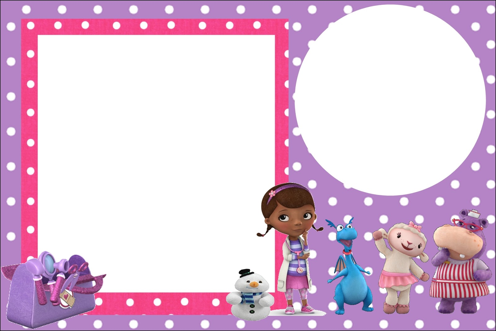 Doc Mcstuffins Free Printable Invitations Oh My Fiesta In English