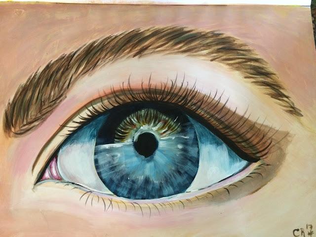 Cynthia, eye, realism,