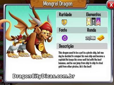 Dragão Mongrel  - Informações