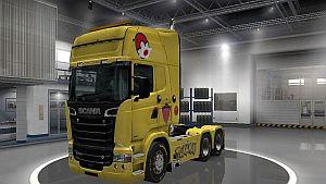 Scania RJL Pikachu Paintjob