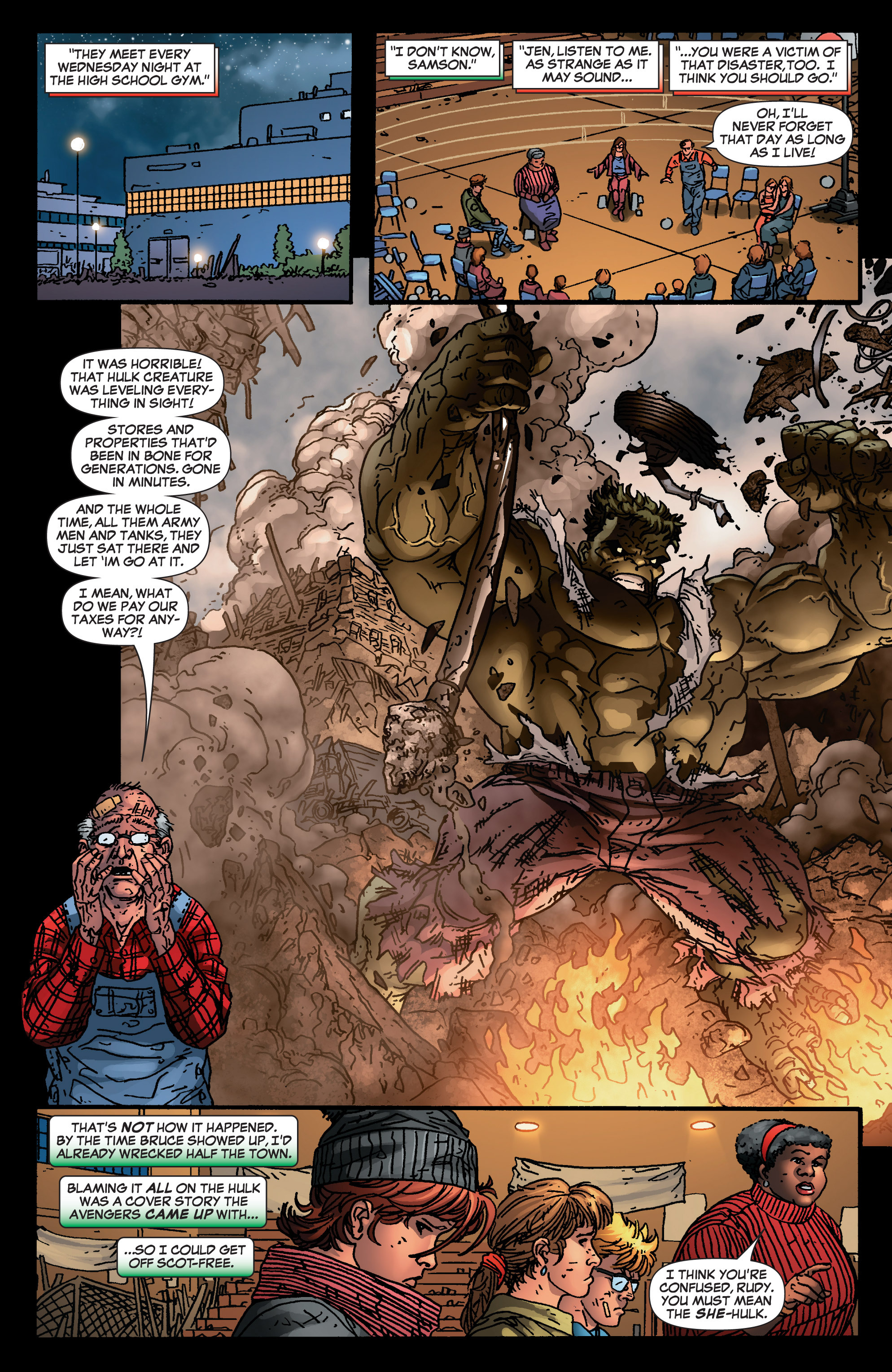 Read online She-Hulk (2005) comic -  Issue #4 - 7