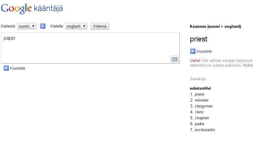 Google ääntäjä