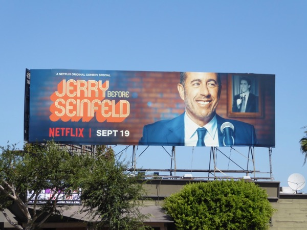 Jerry Before Seinfled Netflix standup billboard