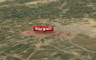 مقتل خمسة من عناصر داعش الأرهابي  بتفجير انتحاري وسط الحويجة في كركوك