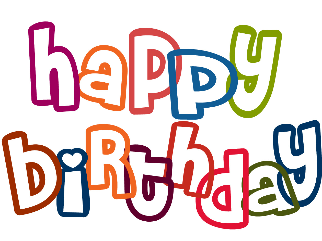 clipart for happy birthday - photo #1