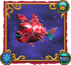 Wizard101 Fishing Dragonspyre Fish Armored Red Guard Sentinel