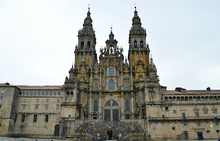 The Western facade of the cathedral