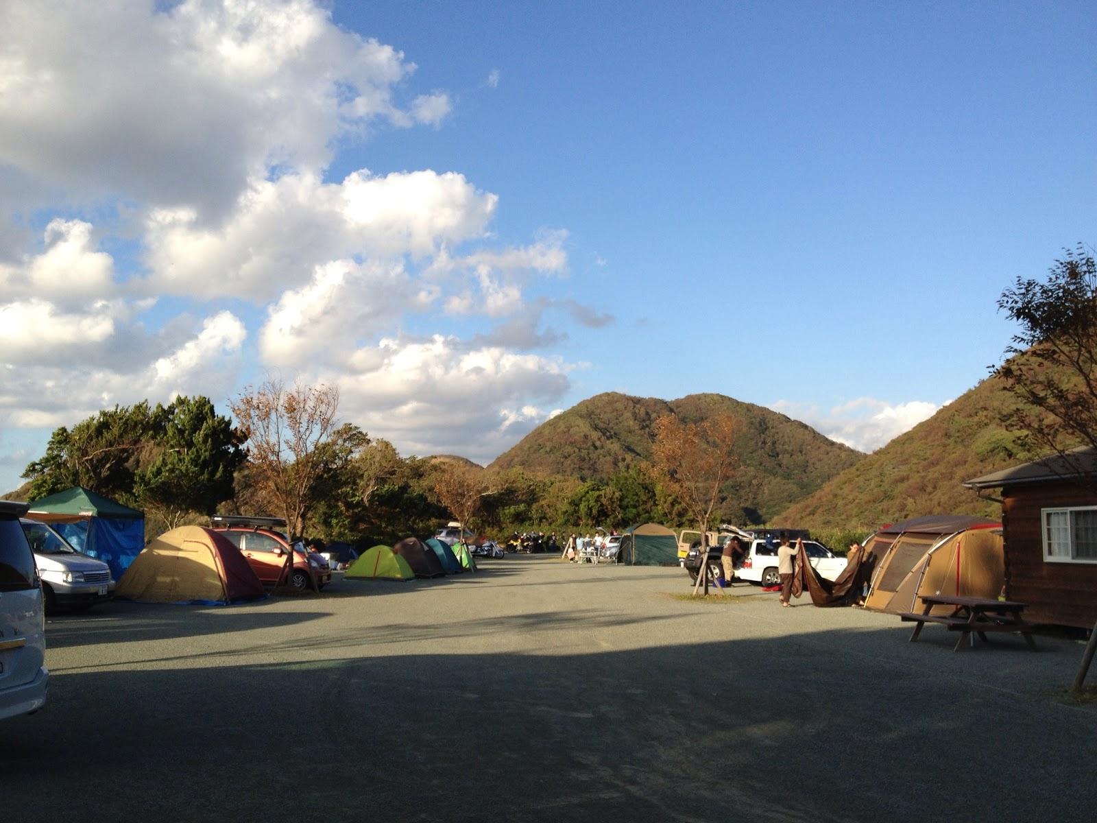 場 キャンプ 雲見 オート