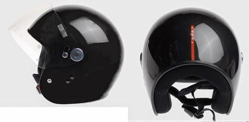 prada motorclycle helmet