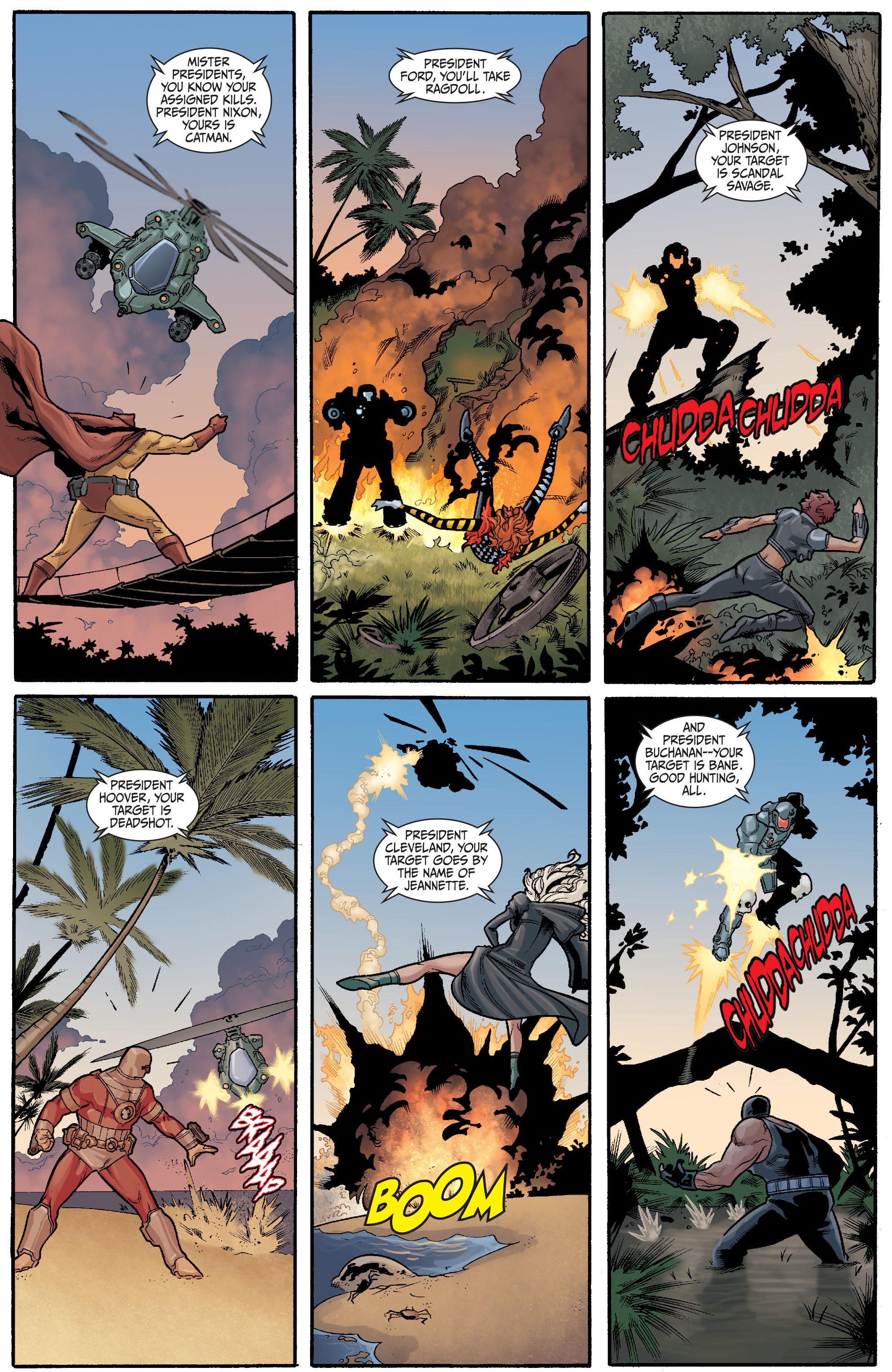 Read online Secret Six (2008) comic -  Issue #23 - 11