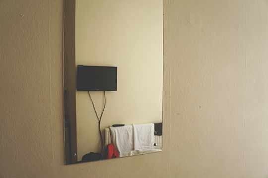 on the road again, travel, photography, art, hotel room, photo, contemporary photo, Sam Freek,
