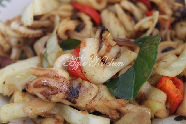 Sotong Goreng Sempoi