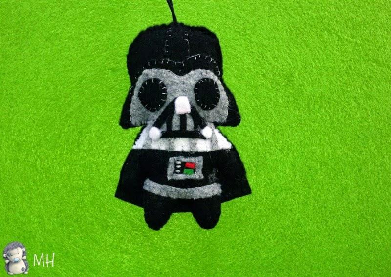 Darth Vader en fieltro