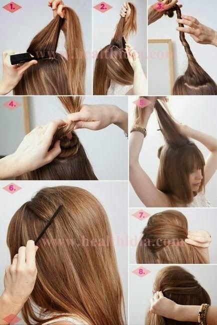 Astonishing Hairstyles With Tutorials For Girls World Business Hairstyles For Women Draintrainus