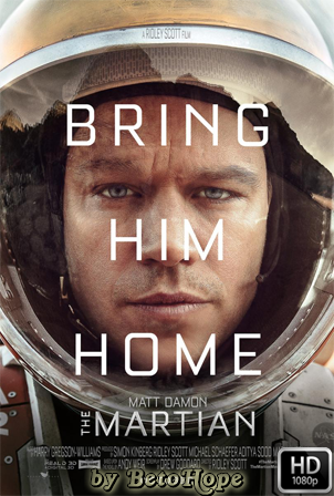 Marte (The Martian) [2015] [Latino-Ingles] HD 1080P  [Google Drive] GloboTV