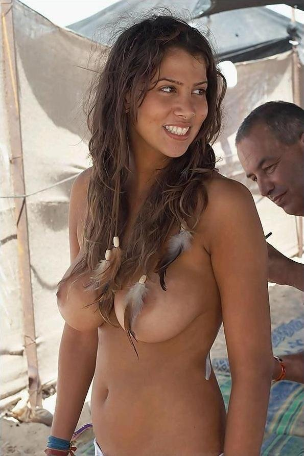 Nude brazilian women on the beach