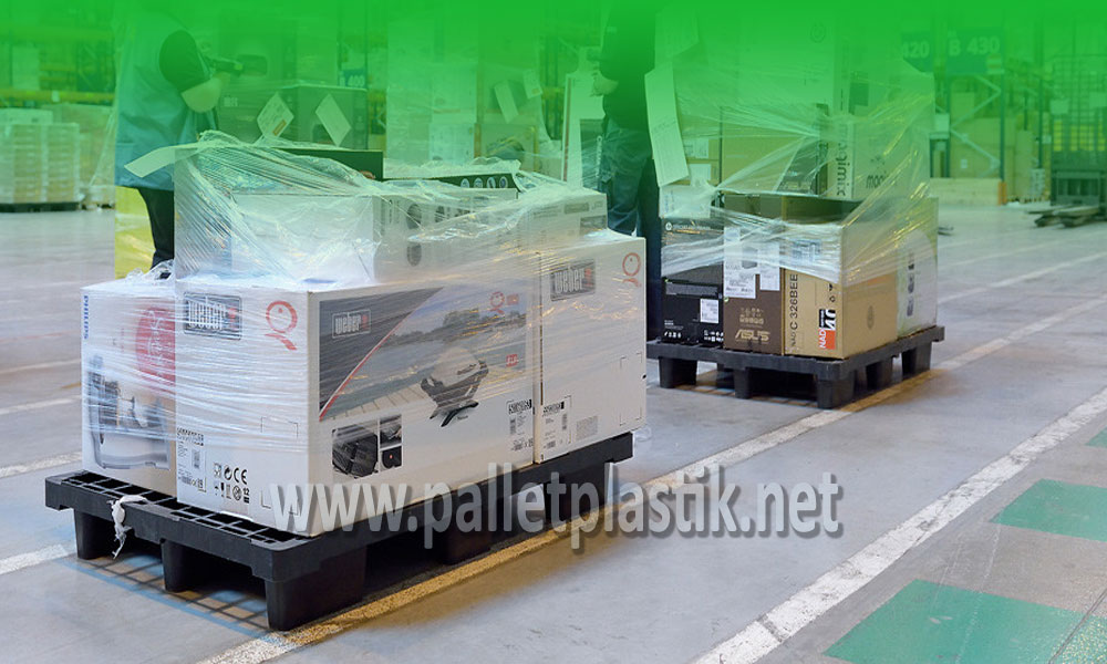 pallet plastik untuk kebutuhan logistik